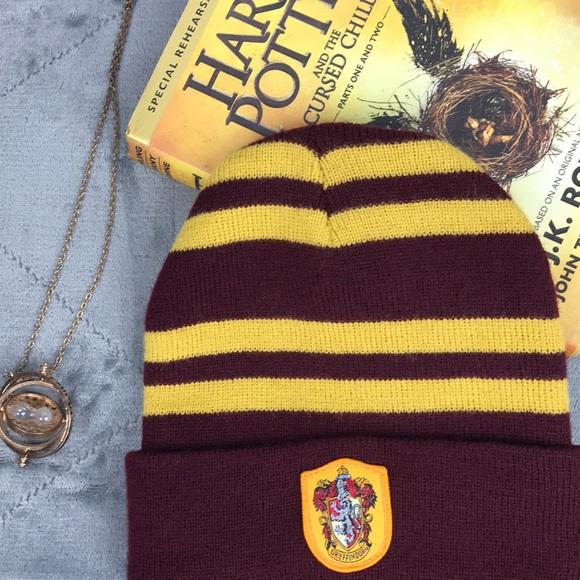 7131fdf6359 Harry Potter Gryffindor House Beanie Knit Hat
